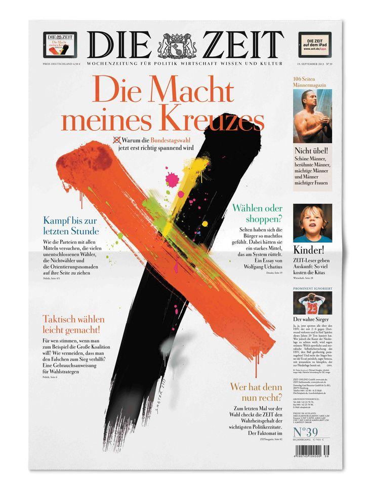 Best Print Design: Germany's Die Zeit → García Media