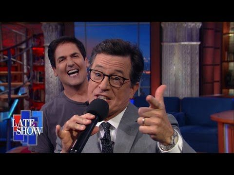 WATCH: Mark Cuban And Stephen Colbert Hilariously Torch Donald Trump   Addicting Info   The Knowledge You Crave