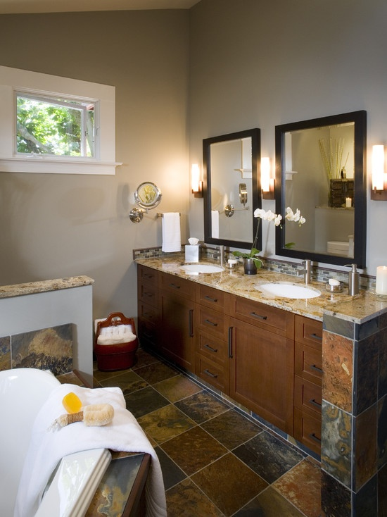 Bathroom Slate Bathrooms Design, Pictures, Remodel, Decor and Ideas - page 2