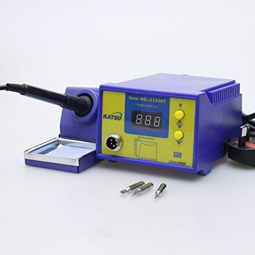 Merry Tools KATSU 936 Digital Electronic Soldering Rework Station 60W Temperature Control 312087 Input Voltage: 220V 50/60Hzandlt