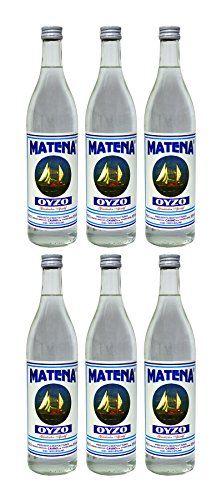 "Sparset: 6 Flaschen Cavino Ouzo ""MATENA"" 700 ml ( 6 x 700 ml )"