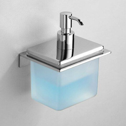 Hotel Soap Dispenser Bathroom Copper Wall Mounted Manual Double