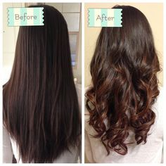 partial perm before and after - Google Search