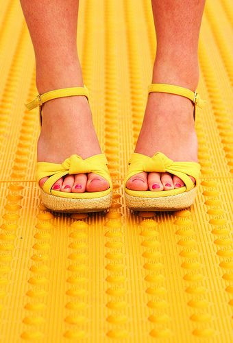 Sunshine sandals.