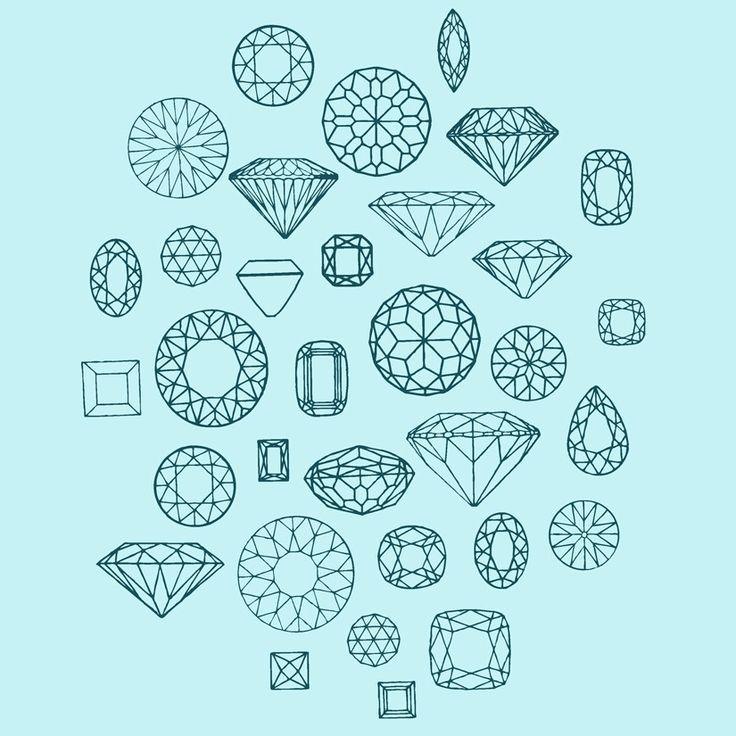 diamond geometric shapes - Google Search