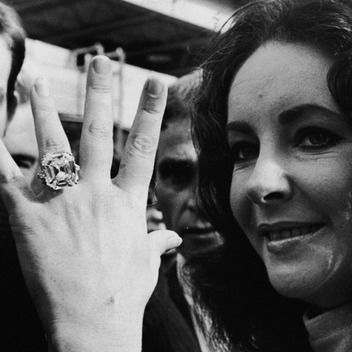 In Honor of Liz & Dick: The Many (Many, Many!) Engagement Rings of Elizabeth Taylor