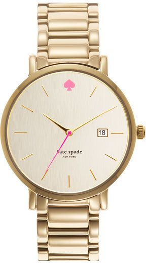 Kate Spade New York Gramercy Grand Gold Watch | The Ultimate Christmas Gift Guide