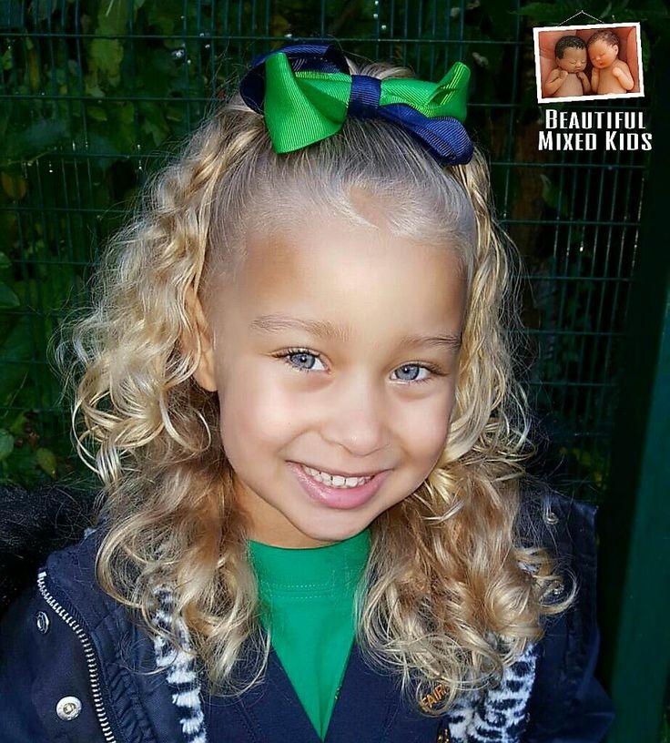 Sienna - 4 Years • Mom: Black British & Jamaican • Dad: White British, Irish, Scottish & Romani ❤