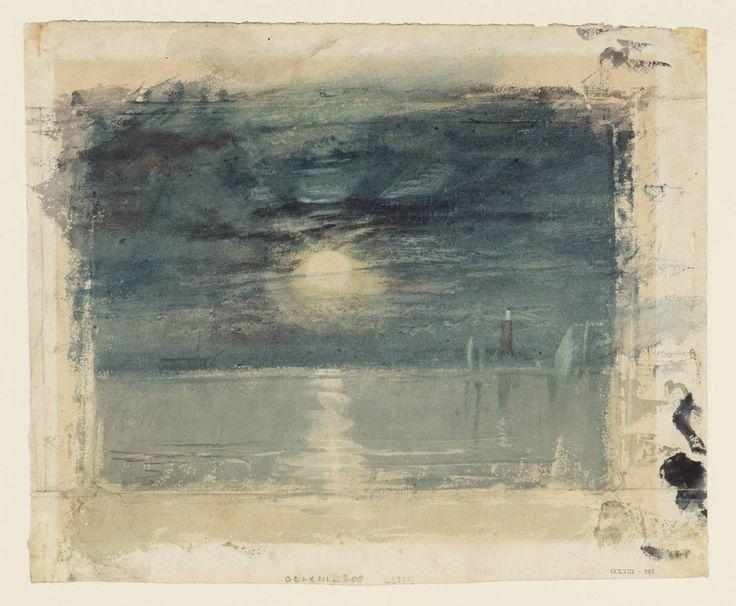 Joseph Mallord William Turner, 'Shields Lighthouse' c.1823-6