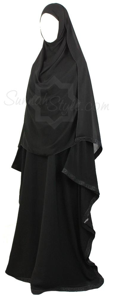 Obsidian Butterfly Abaya by Sunnah Style #SunnahStyle #islamicclothing #abayastyle #farasha