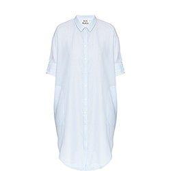 Lash Stripe Shirt Dress