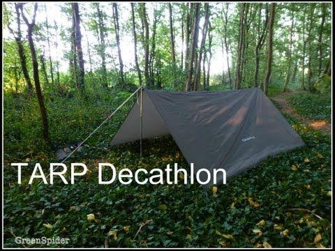"""Protection pour la verte - TARP et Bâche """"Camo"""" Decathlon. - YouTube"""