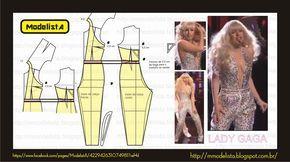 ModelistA: MACACÃO LADY GAGA