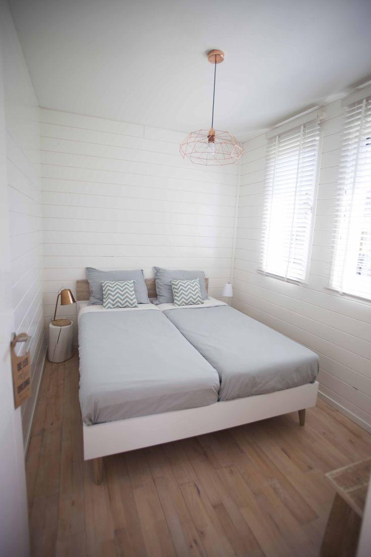 Slaapkamer beneden vakantiehuis Strand&Kust