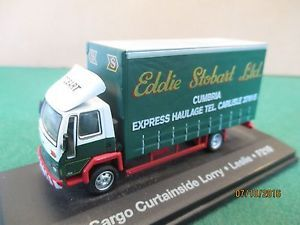 Atlas-Die-cast-034-Ford-Cargo-Curtainside-Lorry-034-1-76-Stobart-Boxed
