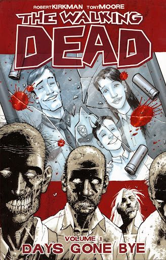 The Walking Dead Comics.. Don't normally read comics, but these changed that! Amazing!!!