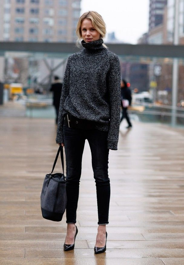 New York Fashion Week Street Style for Winter: Street Style For Winter