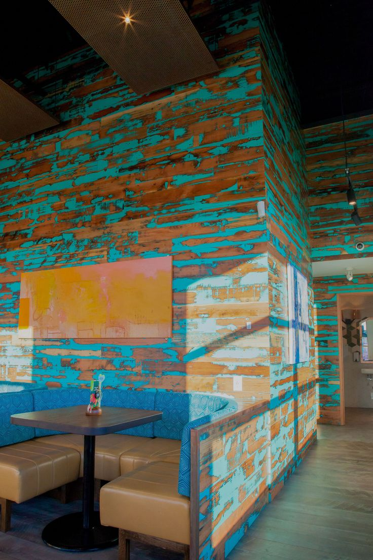 Viridian Reclaimed Wood Paneling Floors Restaurant Tables Granary Plank  Colorburst Blue Nando's Tsawassen Canada Portland OR - 45 Best Images About Restaurants - Viridian Reclaimed Wood On