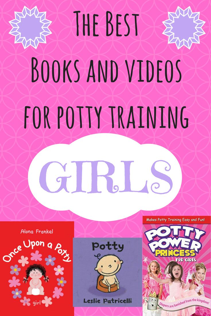 The Best Potty Training Videos and Books for Girls