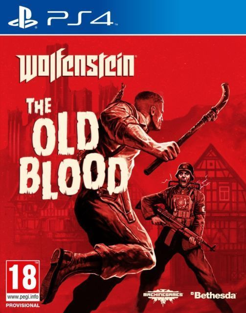 ps4 wolfenstein the old blood plus ps4 wollfenstein the new order