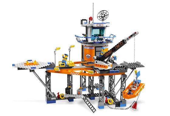 coast guard legos | Image #1: 4210-1 - Coast Guard Platform