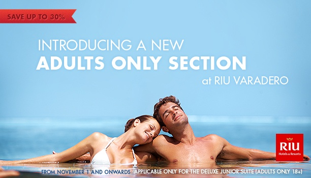 RIU Varadero, Cuba has an Adult only section, find your peace and serenity. Signature.ca