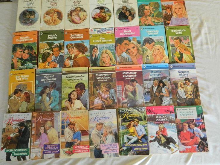 JESSICA STEELE – HARLEQUIN ROMANCE – LOT OF 27 PAPERBACK BOOKS