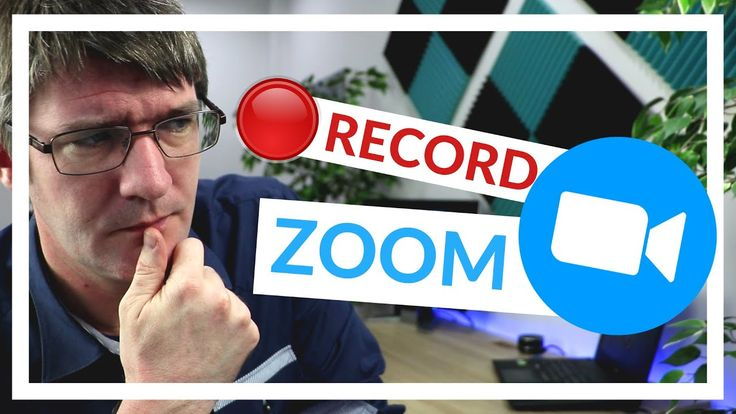 How to record a meeting in zoom video and audio ในป 2020