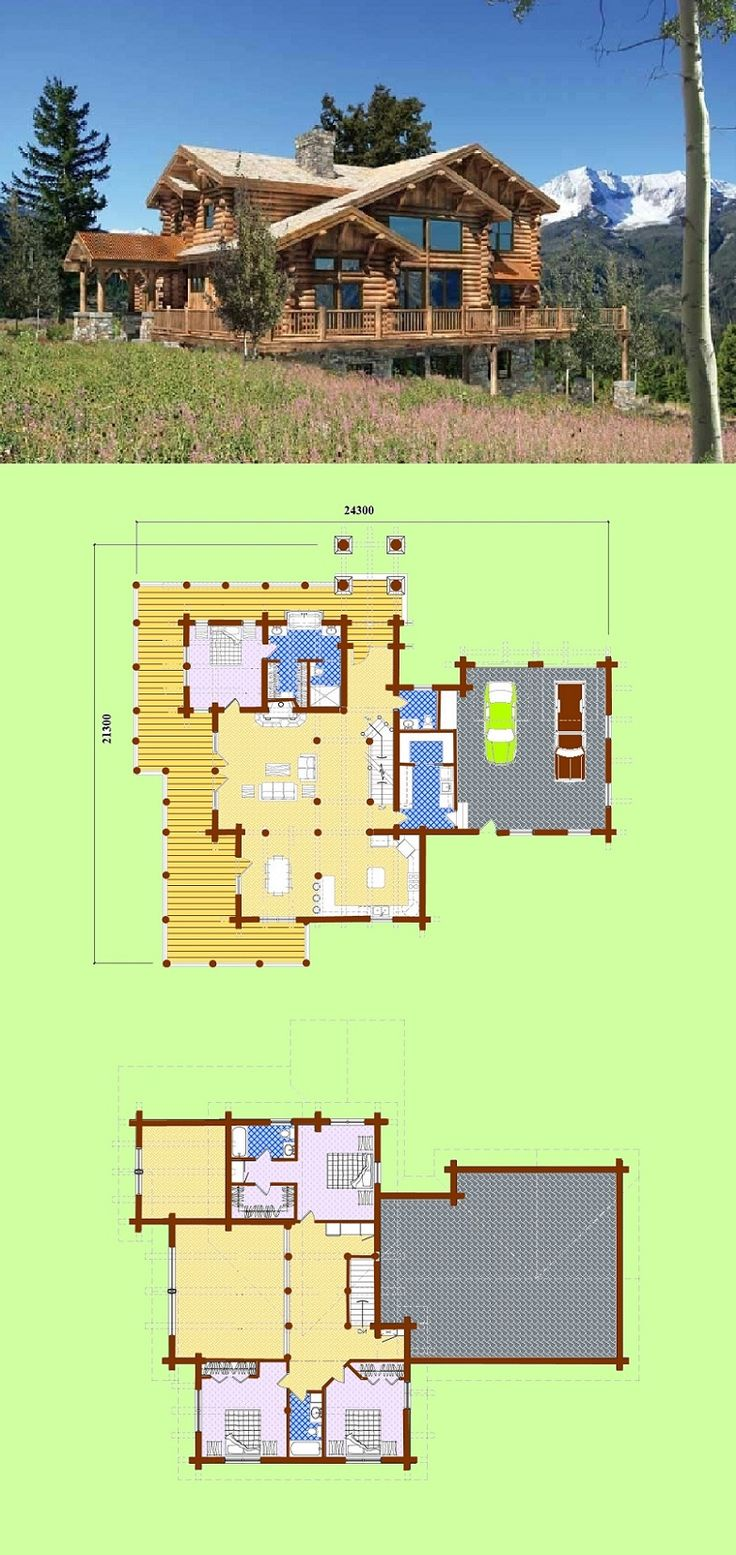 Designs 70m2 – 930m2 - Quality Log Cabins and Timber Frame