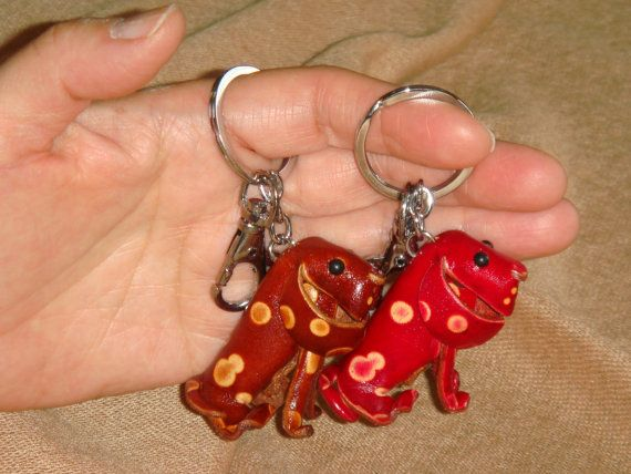 Genuine leather bag charms!