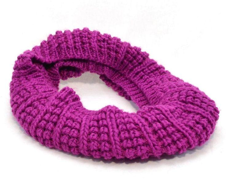 Winter Apt 9 Women Scarves Open Knit Purple Infinity Wrap Loop Scarf NEW 9320 #Apt9 #LongInfinityWrapScarve