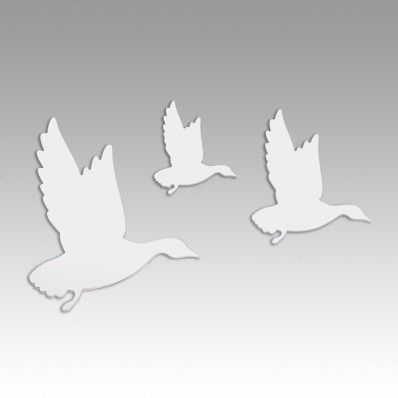 Flying Ducks - Mirrored Wall Decal