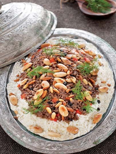 Food Middle East/North Africa - Eten Midden Oosten/Noord Afrika (Turks/Duvaklı pilav)