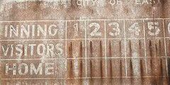 The 25 best baseball scoreboard ideas on pinterest for Baseball scoreboard wall mural