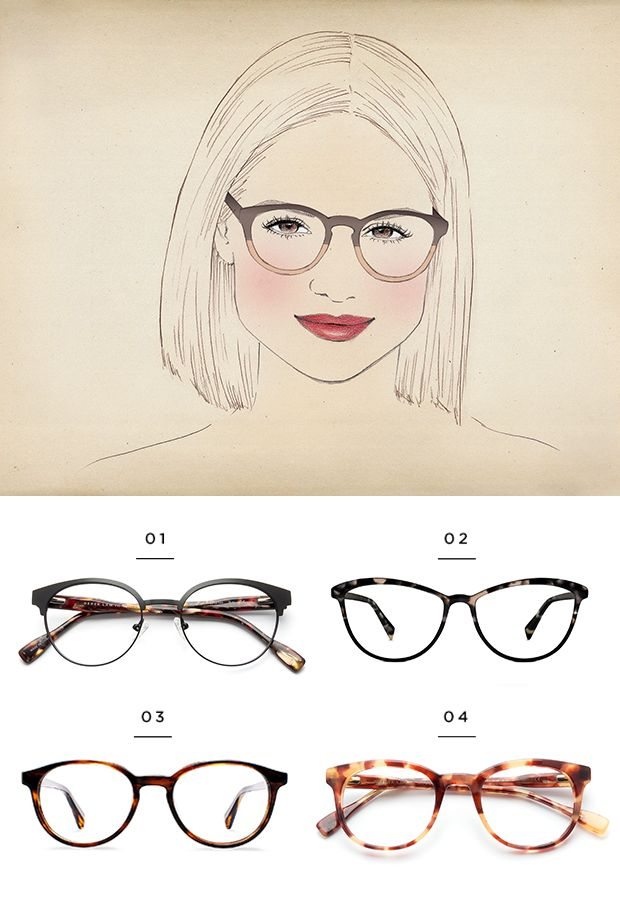 9dfa0a737 The Best Glasses for All Face Shapes | Verily Style Inspiration | Glasses  for your face shape, Frames for round faces, Glasses for round faces