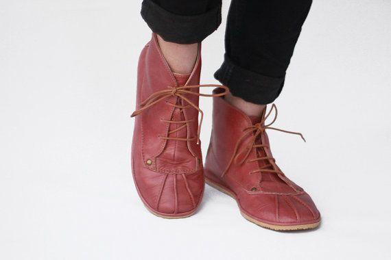 Hey, diesen tollen Etsy-Artikel fand ich bei https://www.etsy.com/de/listing/266233648/flache-halbstiefel-stiefel-dark-rose