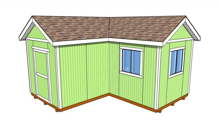 l shaped shed outdoor plans pinterest sheds doors