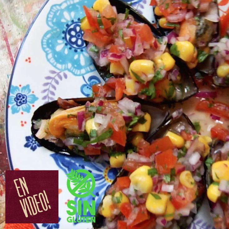 Mejillones a la Chalaca -  Mejillones o Choritos a la Chalaca. Un plato de la costa peruana que varía su preparación según el lugar! Muy pero muy fresco y fácil de hacer!