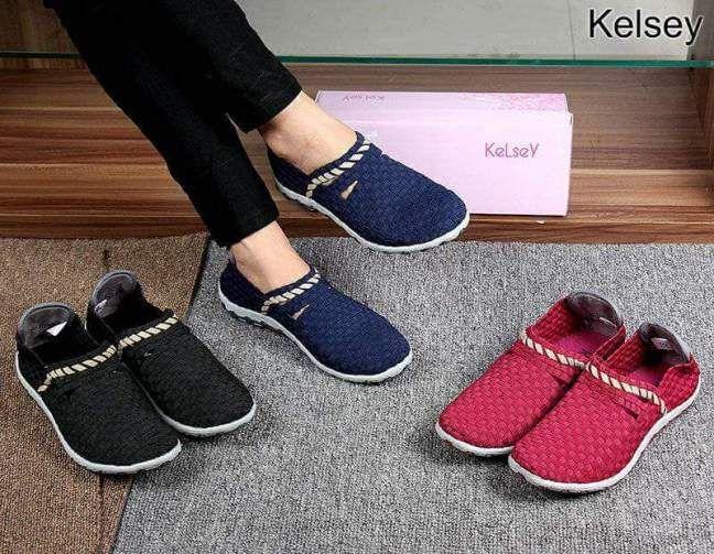 Sepatu Kelsey Rajut Rl011a Trend 2018 Sepatu Sepatu Wanita