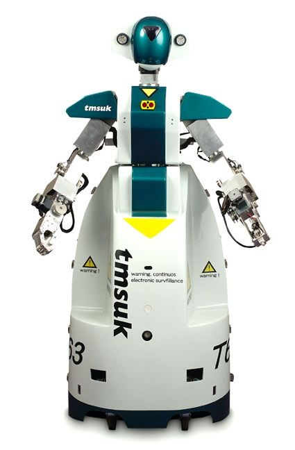 Artemis - the robot guard #science #technology #robot