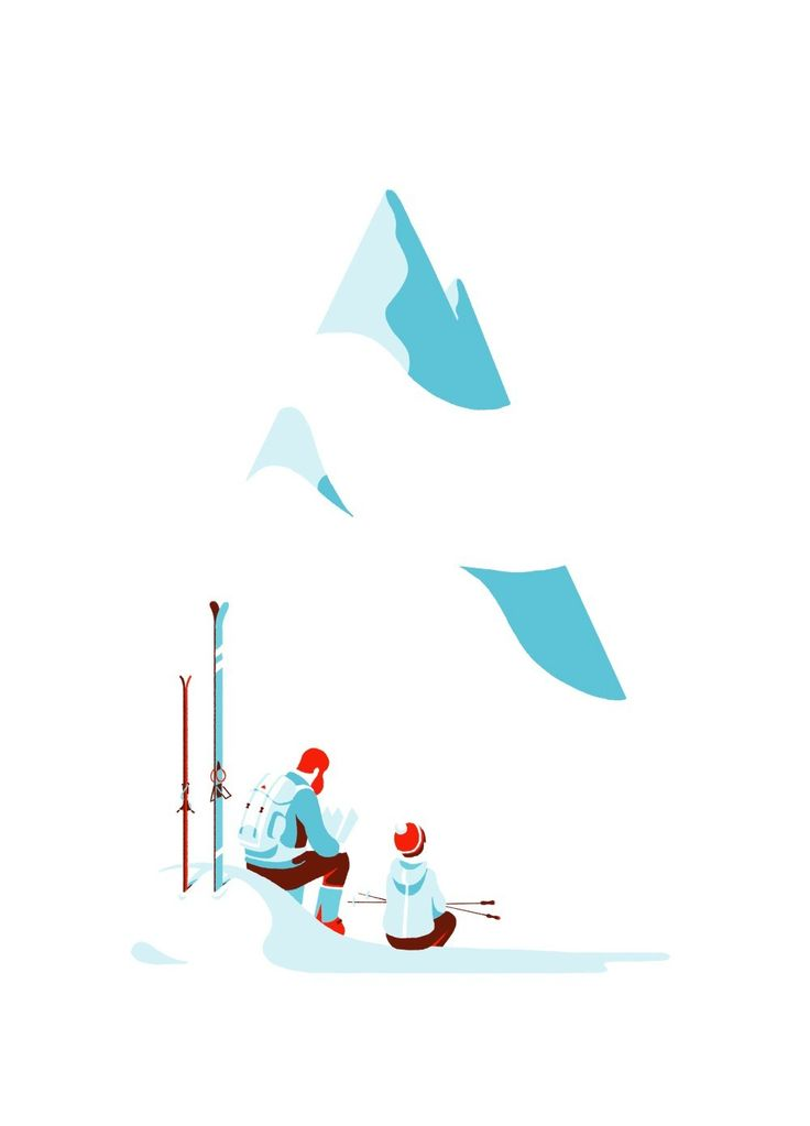 Illustration originale de Tom Haugomat - La pause | Oeuvres | Galerie Robillard
