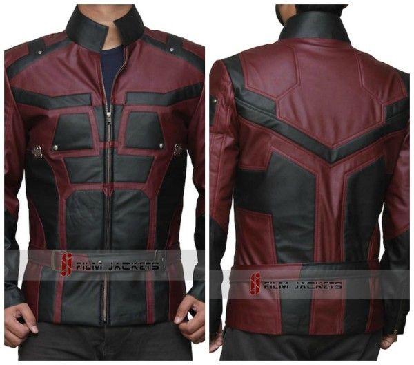 Brutal chaqueta basada en el diseño del traje de Daredevil   Fusion Freak