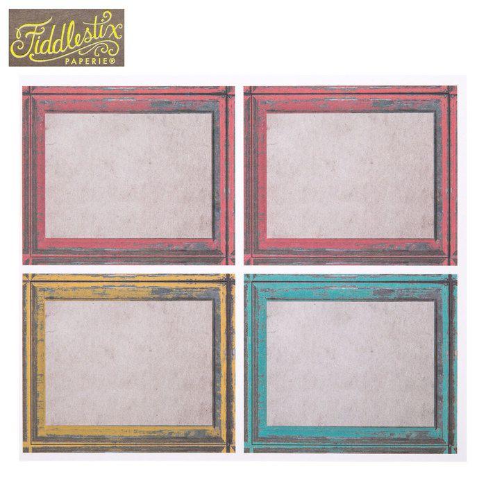distressed frame labels - Distressed Frames