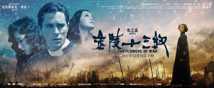 Las Flores de la Guerra (2011)... Qué película, una historia muy conmovedora y con gran descripción de la historia.