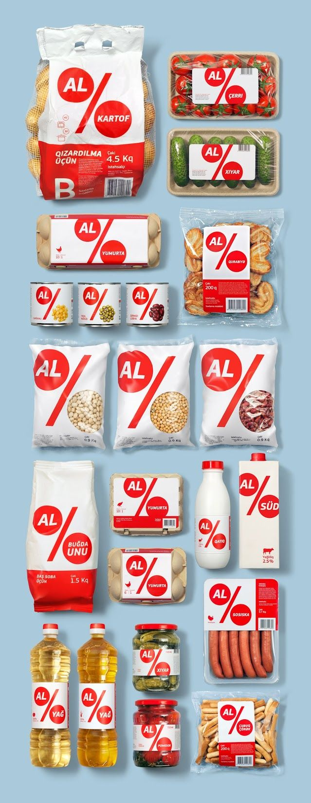 Al Market Private Label on Packaging of the World - Creative Package Design Gallery