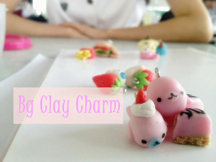 my clay charm collection