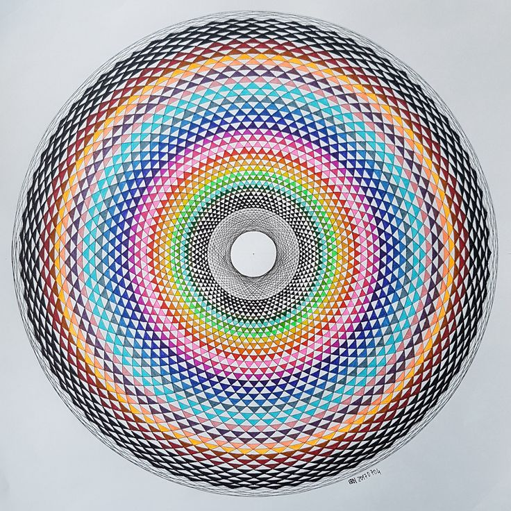 #torus #toroid #geometry #symmetry #pattern #handmade #mathart #regolo54 #circle #disk #touche #ink