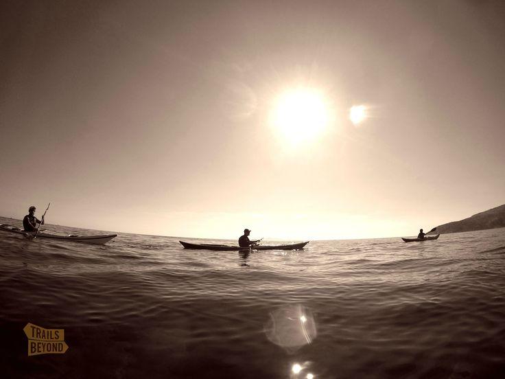 Cape Sounion, Sea Kayak