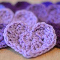 The Easiest Crochet Heart Pattern Ever!
