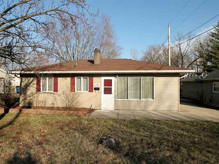 1114 N Audobon, Marion, IN 46952 Adorable 3 bedroom, 1 bath totally remodeled ranch home.  New siding, flooring throughout including kitchen.  Fenced in back yard including fire pit, 8x8 shed for additional storage,